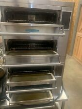 2 X Turbo Chef Hhd 9500 Double Door Commercial Electric Impinger Pizza Oven
