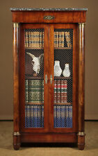 More details for french empire style bookcase c.1930
