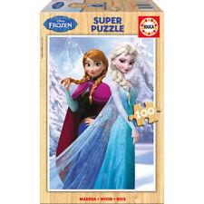Disney Frozen Anna & Elsa Rompecabezas de Madera 100 un. (16373)
