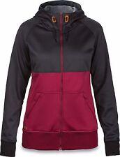 Dakine HAZEL TECH FLEECE Womens Zip Front Hoodie Jacket Medium Black NEW