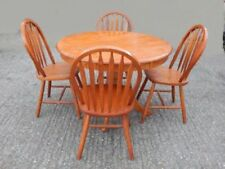 Teak Dining Table Round Table & Chair Sets