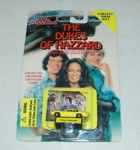 The Dukes Of Hazzard Racing Champion 1/144th Micro Scale Daisy's Yellow Plymouth
