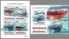TOGO 2019 ** Tanker Schiffe Tankers #45419ba B