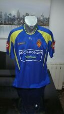 CAMISETA SHIRT VINTAGE LOTTO REAL ZARAGOZA TALLA XL
