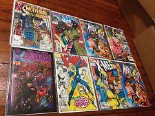 Lot of 8 Marvel Comics X-Men & Wolverine Books Exiles Storm Longshot Legion