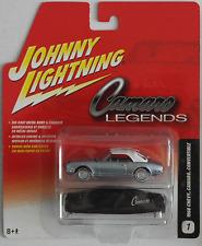 Johnny Lightning - ´68 / 1968 Chevy Camaro Cabrio blaumet. + Stoffhaube Neu/OVP