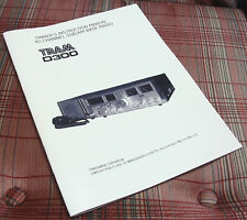 Vintage TRAM D300 D-300 40 Channel AM/SSB CB Base Station Owners Manual
