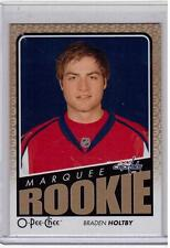 BRADEN HOLTBY 09/10 OPC O-Pee-Chee Update #785 ROOKIE RC Capitals Hockey Card