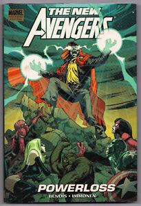 MARVEL'S THE NEW AVENGERS POWERLOSS BENDIS/ IMMONEN HC 1st Ed 2010 GN #55-60