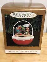 Vintage 1994 Hallmark Forest Frolics Light & Motion Keepsake Ornament
