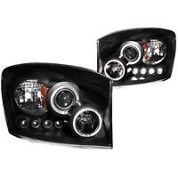 Anzo USA 111209 Projector Headlight Set w/Halo Fits Ram 1500 Ram 2500 Ram 3500