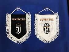 Juventus FC Mini Flag / Pennant (12cm x 15cm) Great For Car / Home /Office Use