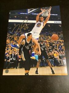 Zaza pachulia Golden state warriors autographed 8x10 clearance