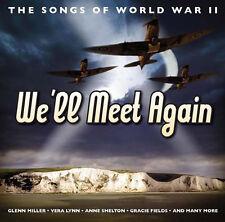 Songs Speeches Of World War II 2 1940s 40s Music CD New