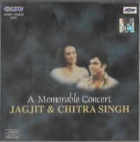 JAGJIT SINGH & CHITRA SINGH - A MEMORABLE CONCERT   - BRAND NEW CD