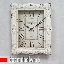 Wanduhr Uhr Retro Antik Used Vintage Shabby Landhaus Look Quarzuhr 34411