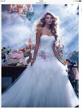 Tulle A-line Sleeveless Wedding Dresses