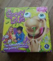 GOOEY LOUIE NOSE PICKING FUN GAME COMPLETE IDEAL 2013 BOX DAMAGE KIDS GAME