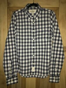 Mens Abercrombie & Fitch Muscle Fit Check Shirt Size M