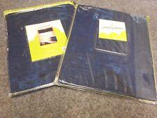 "NIPKG 2 PAIRS WINDOW VALANCE CURTAIN JUMPING BEANS BLUE ALL STAR 62X15"" WINDOW"