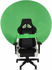 More details for green screen 110cm chroma key circular folding mountable background gaming zoom