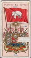 Siam Flag Banner Emblem Thailand Asia 110+ Y/O Ad Trade Card