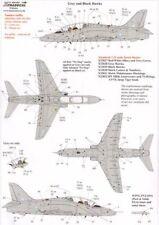 Xtradecal 1/32 BAE Hawk T. 1 COMPLETAS MANTENIMIENTO Marcas Gris y negro 32039