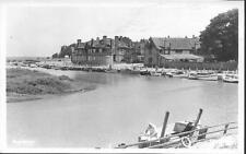 Blakeney, Norfolk - harbour - real photo postcard c.1950s