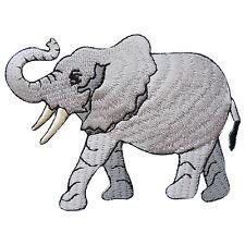 Elephant Safari Circus Wild Zoo Animal Cartoon Kids Children Iron-On Patch A086