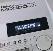 Roland MC-50 MC-50 MKll MC-300 MC-500 MC-500 MKll Custom OLED Display !