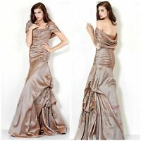 New jovani off shoulder  taffeta with. Lace appliqué msrp$789 size 10,12,14