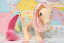 My little Pony - G1 Picnic *Sweet Clover* German peach version, hair still pink!