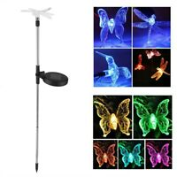 Solar Insect LED Lights Color Changing Stake Lamp For Outdoor Lawn Ornament