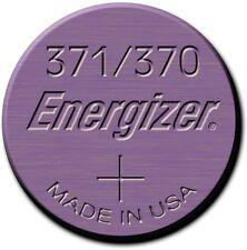 1x ENERGIZER Uhrenbatterie Uhrenknopfzelle 371 - SR920SW - Miniblister