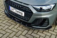 Sonderaktion Spoilerschwert Frontspoiler Cuplippe ABS für Audi A1 GB S-Line ABE