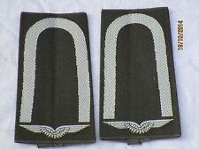 Bw-Rangschlaufen: Unteroffizier ,weiß / oliv, Luftwaffe
