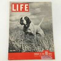 VTG Life Magazine February 25 1946 Field Trial of a Bird Hunting Dog Feature