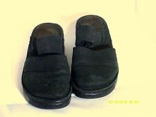 NAOT WOMEN'S SHOES Black MARY JANE MULES SIZE 39/8 Adjustable Strap
