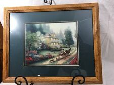 Thomas Kinkade Sunday At Apple Hill 2002 Painting Reproduction Unsigned 2000-Now