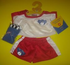 Build-A-Bear Hamburg Germany Exclusive Soccer Outfit Set with Socks German