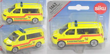 Siku Super 1462 VW T5 facelift Multivan Kinder-Notarztwagen hohe Blaulichtleiste