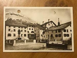 1924 Switzerland Swiss Postcard