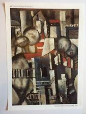 AFFICHE : FERNAND LEGER LES TOITS DE PARIS 1912; Centre Pompidou editions