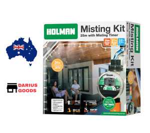 Holman 25m Deluxe Misting Kit with Tap Timer