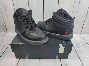 """Nike Jordan Heritage BP """"Black Gym Red"""" Anthracite 886311-001 Size 11c Rare"""