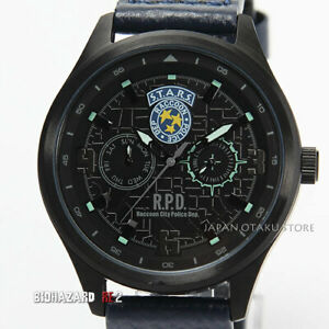 BIOHAZARD RE:2 Resident evil 2 S.T.A.R.S. RACCOON CITY MAP TACTICAL BLACK WATCH