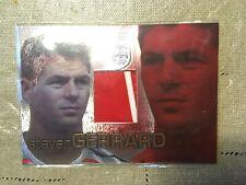 2009 Futera World Football Jersey Card Steven Gerrard Red-White