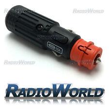 12V 24v Din Socket Lighter Plug with fuse and LED 15A Truck Car Motorcycle Truck