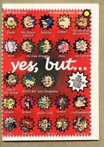 Yes But 2000 fn+ 6.5 Small Press UK Yes, but... Justin J Ward Postal Pat R Crumb