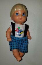 Vintage 1976 Mattel Barbie Kids Blonde Boy Tommy Back To School